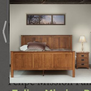 Queen Size Mission Bed frame for Sale in Vancouver, WA