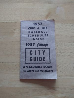 1957 Chicago street guide book for Sale in Chicago, IL