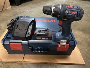 Bosch 18v Lithium Ion Drill kit with stackable L-Boxx-2 for Sale in Chino Hills, CA