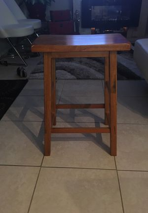 Set of 4 wooden bar stools for Sale in Cape Coral, FL