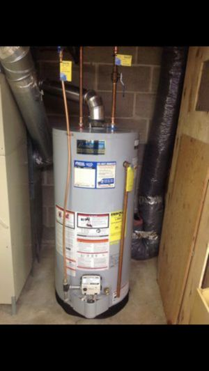Water Heater Reem New Picked up delivered installed $150.00 for Sale in Phoenix, AZ