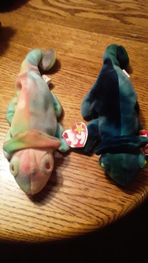 RARE ty beanie babies Both named Rainbow with tag errors for Sale in Federal Way, WA