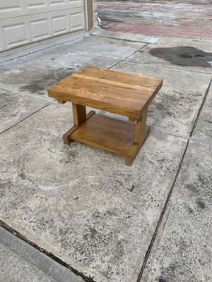 Wood side table end table for Sale in New York, NY