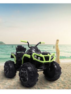 Brand New Built And Ready To Go The Beast Ride On Kids Car 12V ATV Quad for Sale in Hollywood,  FL