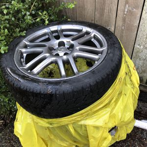 215/45R17 Studless Snow Tires And Alloy Wheels, Scion, Toyota, Etc for Sale in Everett, WA
