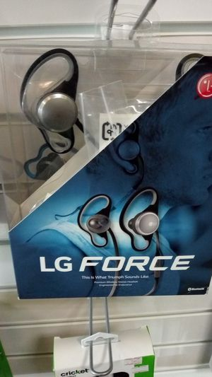 Lg force bluetooth headset for Sale in Lubbock, TX