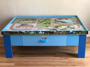 Thomas and Friends Wooden Railway Play Table for Sale in Denver, CO