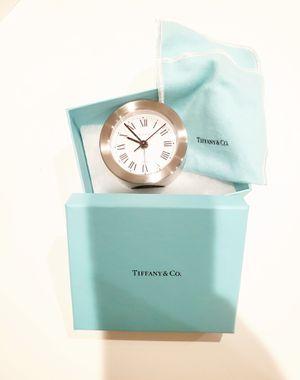 Tiffany & Co. Round Alarm Clock Silver for Sale in San Antonio, TX