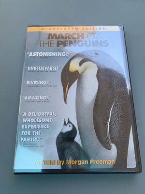 Unopened March of the Penguins DVD for Sale in Houston, TX