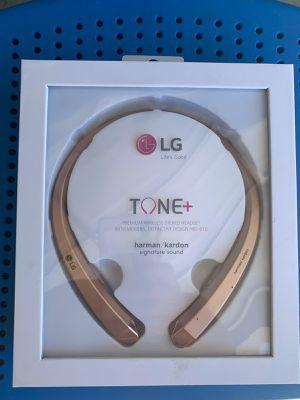 Lg tone 910 headphones wireless brand new sealed box for Sale in Long Beach, CA
