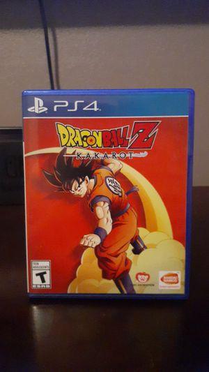 Dragonball Z Kakarot for PS4 for Sale in Turlock, CA