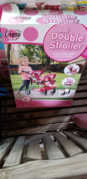 Lissi naby doll double stroller for Sale in Jersey Shore, PA