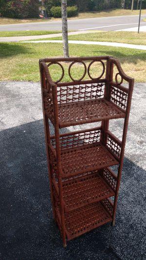 Wicker shelf for Sale in Boca Raton, FL