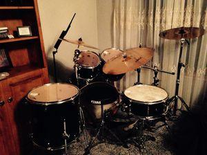 5 piece Meridian Birch kit drum set for Sale in Bountiful, UT