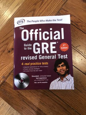 GRE prep books and flash cards for Sale in Fairmont, WV