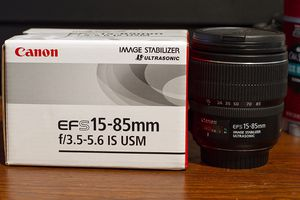 Canon EF S 15-85mm f/3.5-5.6 IS USM for Sale in Annandale, VA