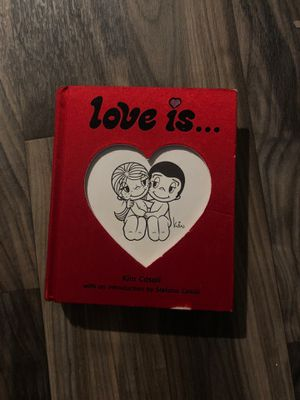 Love Is Kim Casali Stefano Casali book hardcover comic Sunday paper funnies romance for Sale in Euless, TX