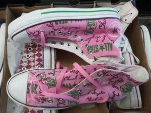 Pink designer Converse for Sale in Los Angeles, CA