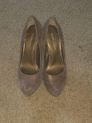 BCBGeneration Bronze Heel Shoes size 8 for Sale in Nashville, TN