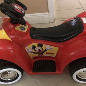 Mickey Mouse Toddler Car for Sale in Miami, FL