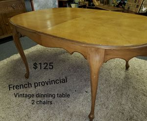 French Provincial table for Sale in Lubbock, TX