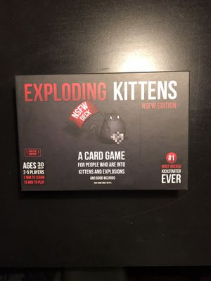 Exploding Kittens NSFW Edition for Sale in Greenwood, IN