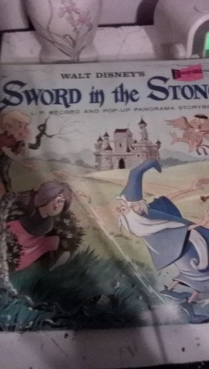 Sword in the Stone L.P. Record for Sale in Palmdale, CA