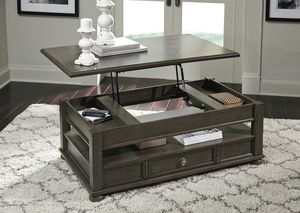 Ashley Furniture Gray Lift Top Coffee Table for Sale in Garden Grove, CA