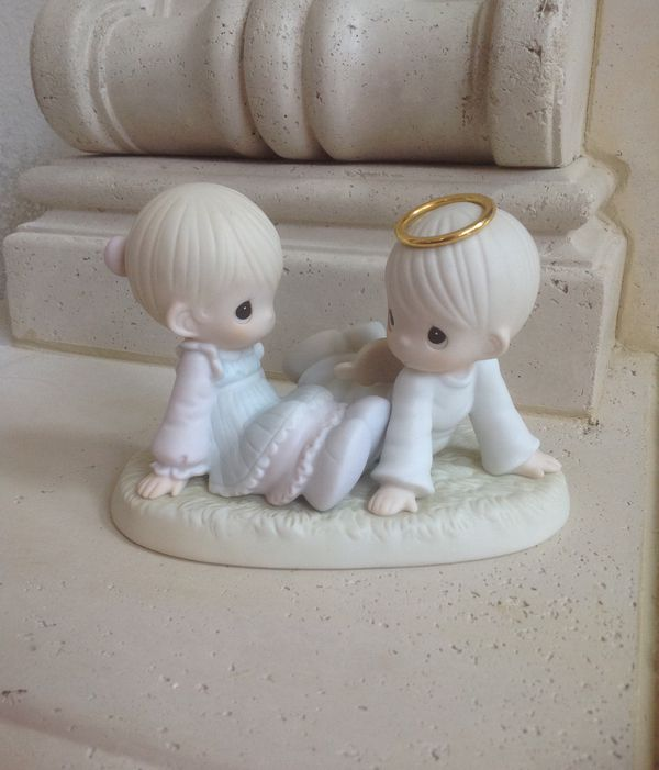 HEAVEN MUST HAVE SENT YOU Precious Moments Figurine 1997