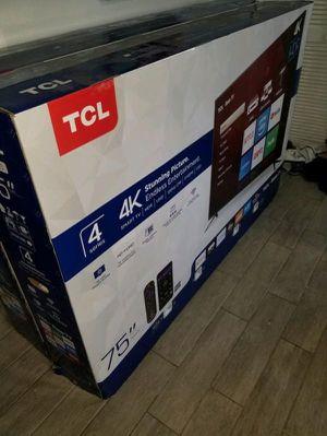 75` TCL ROKU TV for Sale in Santa Ana, CA