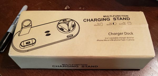 Multi-function charging stand