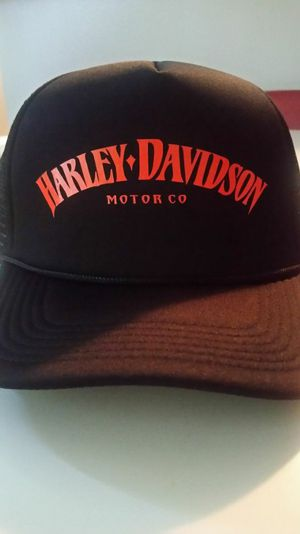 Harley Davidson Motor Co snap back trucker hat for Sale in Bellflower, CA