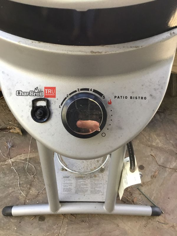 Char-Broil Patio Bistro BBQ - propane