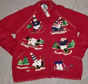Women's Christmas Zip Sweater for Sale in Clovis, CA