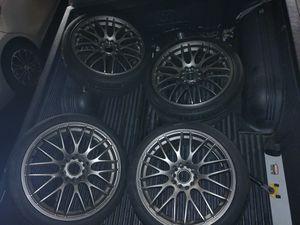 18 inch rims 250 OBO for Sale in Encinitas, CA