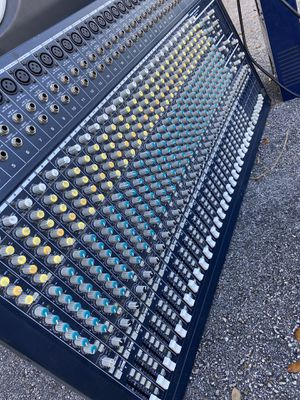 Behringer Eurodesk Mixing board MX3282A for Sale in Hollywood, FL