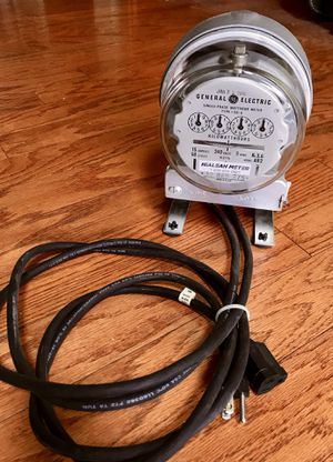 Electric power meter. for Sale in Knoxville, TN