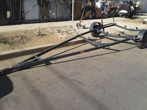 boat trailer. traila para lancha o flat bed for Sale in Newhall, CA