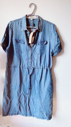 Authentic new Burberry jean jumpsuit with tags XL for Sale in Los Angeles, CA