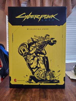 Unopened Cyberpunk 2077 collectable statue for Sale in Shady Shores, TX