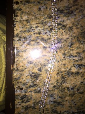 White Gold Plates Chain for Sale in El Paso, TX