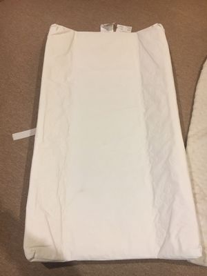 Changing pad with white cover for Sale in Westerville, OH