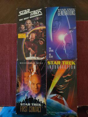 Star Trek The Next Generation VHS bundle for Sale in Fort Lauderdale, FL