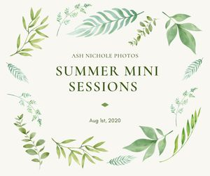 Hartville Summer Mini Sessions on 8/1/2020 for Sale in Hartville, OH