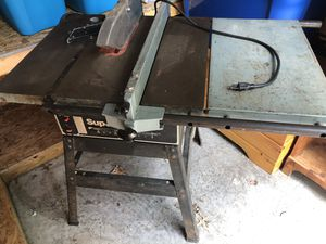 Delta Saw for Sale in Chesaning, MI