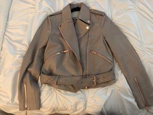 True religion leather moto jacket for Sale in Falls Church, VA