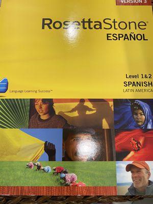 Spanish Rosetta Stone for Sale in Phoenix, AZ