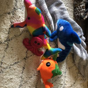 Stuffed vintage plush water mammals stuffed animals baby toys for Sale in San Diego, CA