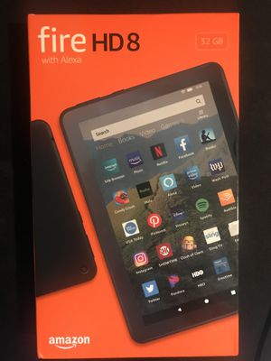 Amazon Fire tablet HD 8 -Like New for Sale in Kenmore, WA