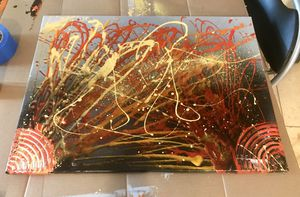 Modern abstract art paintings canvas for Sale in San Diego, CA